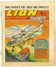 Lion 27th Mar 1971 (mid-grade copy) Black Max, Spellbinder, Steel Commando