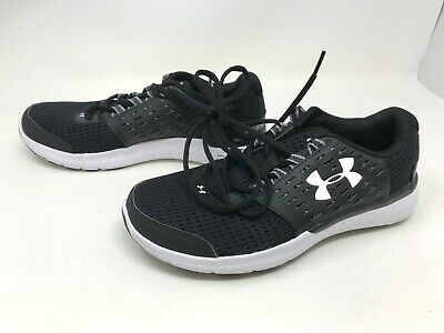 Mens Under Armour Micro G Motion Black//White Running Shoes 430c 1301788-001
