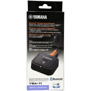 yamaha yba 11 bluetooth wireless audio receiver for yamaha. Black Bedroom Furniture Sets. Home Design Ideas