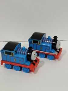 2X Thomas Train Pull Back N Go GULLANE MATTEL 2009 Toy Vehicle Tested Working
