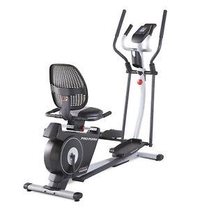 New in Box ProForm Hybrid Trainer Elliptical & Recumbent Bike PFEL03815K