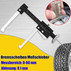 Bremsscheiben-Messschieber-Schieblehre-Profilstaerke-Messgeraet-Messwerkzeug-0-60mm