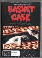 BASKET CASE - CLASSIC BLACK HORROR - NEW & SEALED REGION 4 DVD FREE LOCAL POST