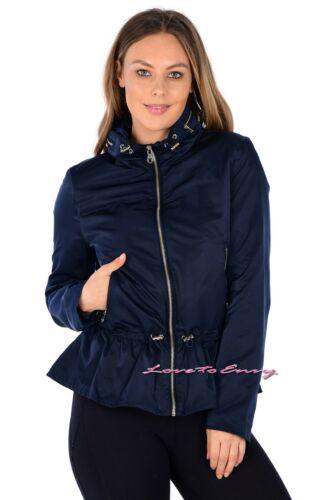EX M/&S per una Ladies Storm Wear Lightweight Outdoor Peplum Jacket Coat 16-24