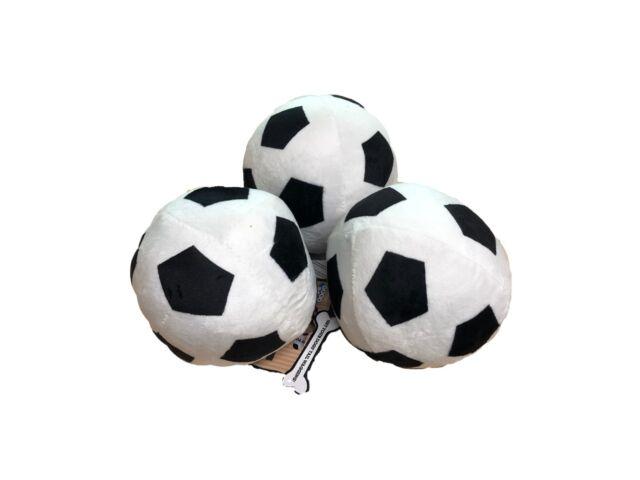 Good Boy Dog Puppy Toy - Soft Plush Football With Squeaker approx 13cm  diameter a57918adaa