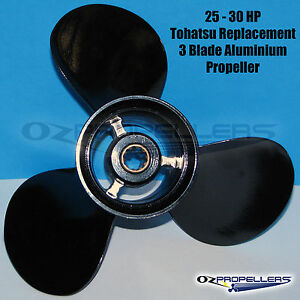 TOHATSU 4 Blade Propeller 10 1//8 x 14 Propeller 35-40-50-60-70HP Alloy Prop
