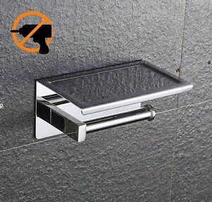 Kazeila Porta Rotoli carta igienica con supporto porta cellulare fissato (g9F)