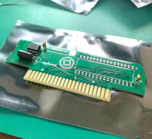 SNES Cart PCB, Hard Gold fingers, 32 DIP, LoRom wiring, with pre-programmed CIC
