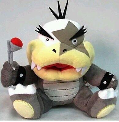 Super Mario série Morton Koopa Jr 8 in environ 20.32 cm Plush Doll Figure en Peluche Jouet Cadeau