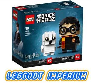 LEGO-Harry-Potter-Brickheadz-Harry-amp-Hedwig-New-Sealed-41615-FREE-POST