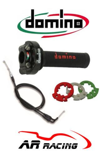 Domino XM2 action rapide accélérateur poignées cables to fit Yamaha YZF R6 2008-2017