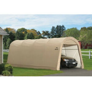PORTABLE CAR PORT Car Shelter Storage Garage Round Top 10 ...