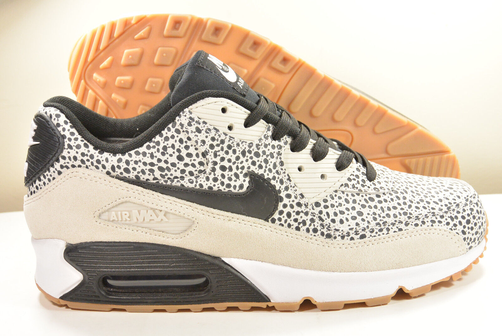 DS 2015 NIKE AIR MAX 90 SAFARI WHITE M 6   WMN 7.5 ATMOS PATTA SUPREME 1 95 MO