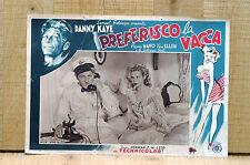 PREFERISCO LA VACCA fotobusta poster Danny Kaye The Kid from Brooklyn 1946 J99