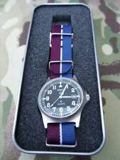 Improved 50m waterproof MWC G10 watch with date + RAF strap Royal Air Force