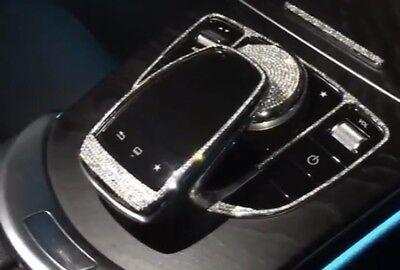 Mercedes Center Console Control Knob Cap Made With Swarovski Crystal GLC GLE E S