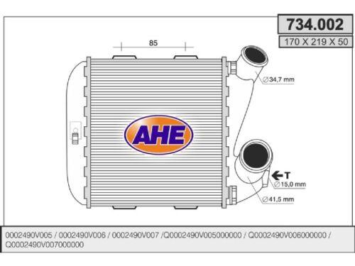 Ladeluftkühler Turbokühler Intercooler Kühler Ladeluft für Smart 450 0.5 CDI LLK