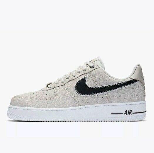 Nike Air Force 1 '07 N7 Light Bone Black-White Men's Sz 11 (AO2369-001)