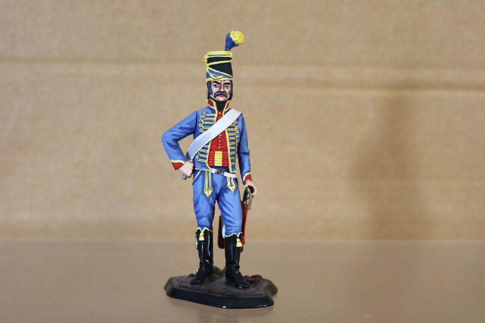 Traditioneller Stadden 90mm Napoleonisch Französische 5. Husaren Soldat 1795