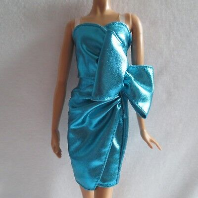 NEW Barbie The Look City Shine Doll Blue Dress ~ Model Muse Clothing  *SEE NOTE*