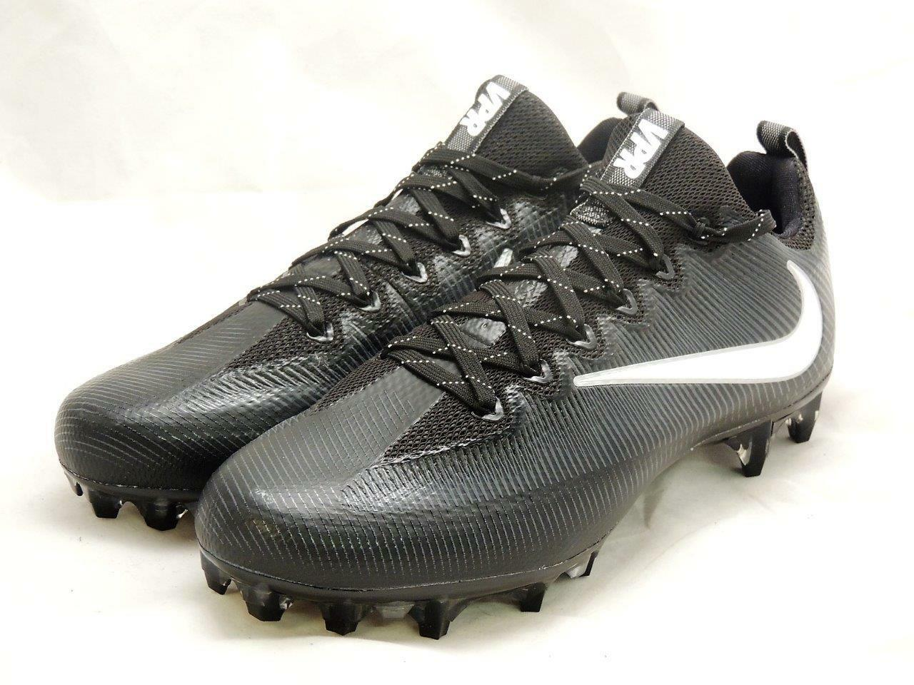 reputable site ded4b 38541 Nike Vapore Intoccabile Intoccabile Intoccabile Football tte 844816-010 Nero  Argento Uomini  10 295bab