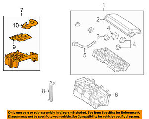 Details about 2010-2016 CADILLAC SRX UNDER HOOD FUSE BLOCK NEW GM # on