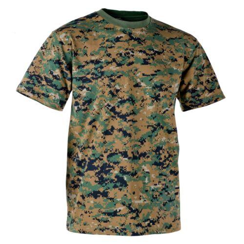 Helikon-Tex Classic Army T-Shirt Comfort-Fit Outdoor USMC Digital Woodland