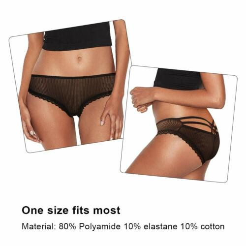 Vibrating Panties Secrets Lace Thone Underwear W//Remote  Black One Size Fit All