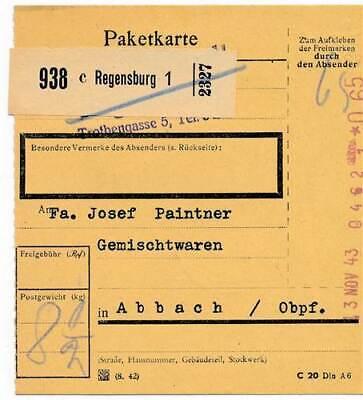 Regensburg 1 Angemessener Preis RüCksichtsvoll 210893 Dr Registrierkassenstpl Paketkt