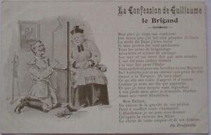 Politische-Satire-034-Kaiser-Wilhelm-II-bei-der-Beichte-034-27823