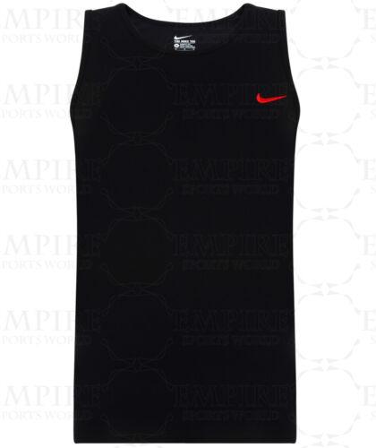 Black Navy Grey New Men/'s Nike Logo Vest Tank Top Sleeveless T-Shirt Singlet