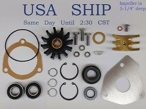 Impeller Kit Fits Sherwood Pump 09959K G1 G2 G15 G21 G22 G30-2B G9901 G9903 K75