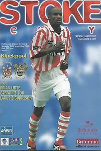Football-Programme-Stoke-City-v-Blackpool-Div-2-26-9-1998