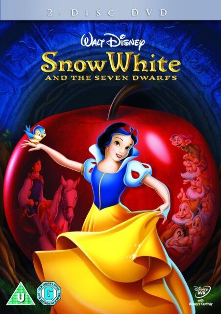 Snow White And The Seven Dwarfs (DVD, 2009, 2-Disc Set) Brand New 8717418203740