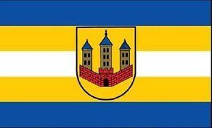 Aufkleber Arneburg Flagge Fahne 8 x 5 cm Autoaufkleber