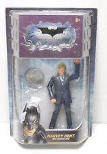 "Dark Knight Movie Masters Harvey Dent Action Figure 6"" Mattel Two Face"