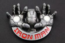 3D IRON MAN BELT BUCKLE LARGE  AVENGERS  MARVEL COMIC BOOK MOVIE CAPTAIN