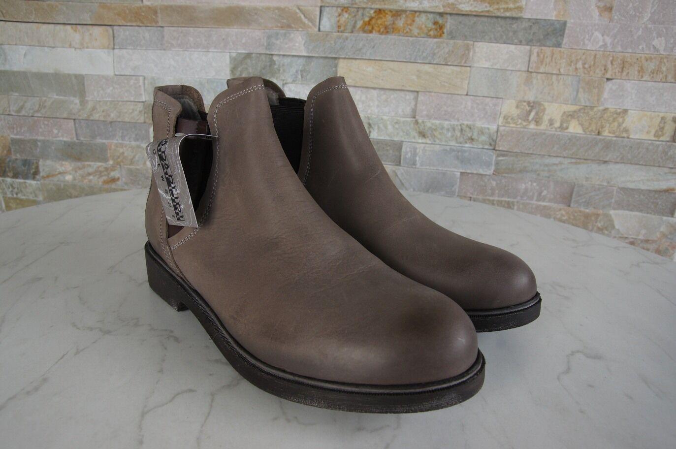 NAPAPIJRI Schuhe Gr 36 Stiefeletten Chelsea Stiefel Schuhe NAPAPIJRI schuhe Klara taupe NEU c0d86d