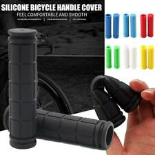 1pair Non-Slip Rubber Mountain Bike Components Bicycle Grips Covers Handle A9J2