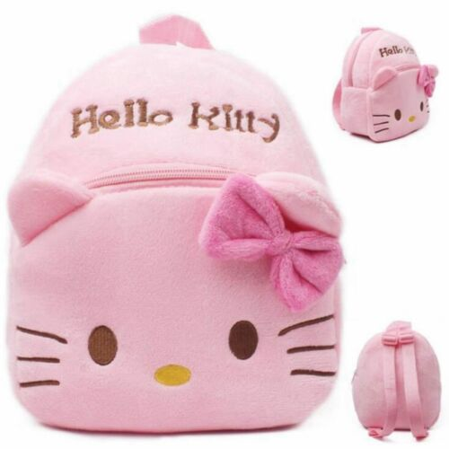 1-3Y Plush Cartoon Hello Kitty School Bag For Girl Kindergarten M Minnie