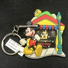Mickey's Toontown Fair Picture Photo Frame Keychain Key Ring Walt Disney World