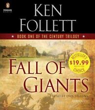 The Century Trilogy: Fall of Giants by Ken Follett (2014, CD, Abridged)