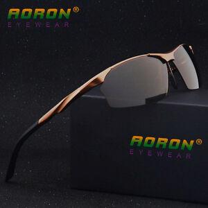 Aluminum-HD-Lens-Polarized-Mens-Sunglasses-Sports-Eyewear-Driving-Driver-Glasses