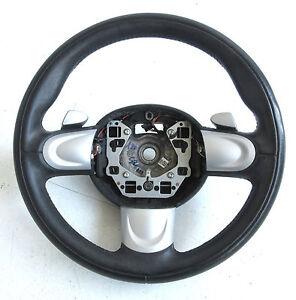 genuine used mini sport paddle shift steering wheel for. Black Bedroom Furniture Sets. Home Design Ideas