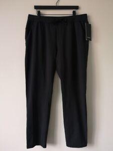 Nuevo Con Etiquetas Lululemon Negro Ciudad Sudor Pantalones De Tela De Terry Frances Clasico Para Hombre Xxl Ebay