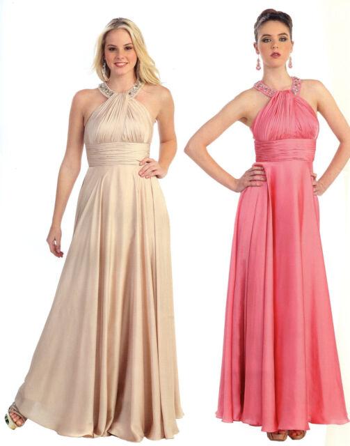 Bridesmaids Elegant Dress Pageant Prom Cocktail Formal Occasion Graduation 4~20