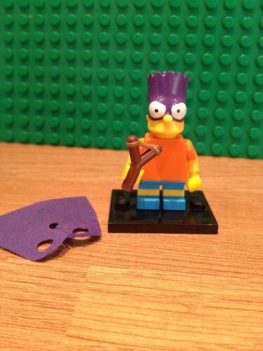 MINT CONDITION LEGO SERIES 2 SIMPSONS ; BART AS BATMAN