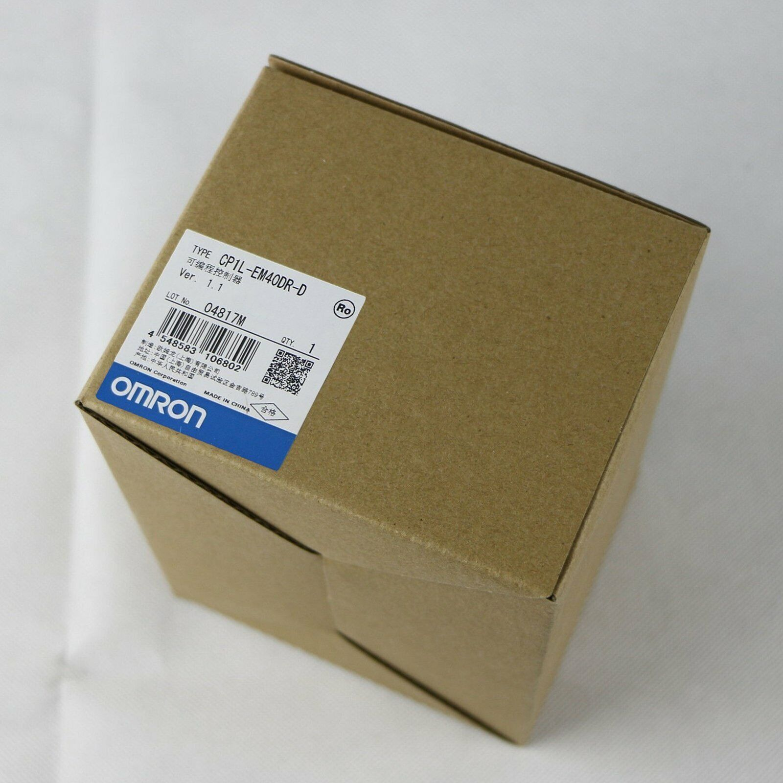 1pc for new Omron CP1L-EM40DR-D by EMS or DHL