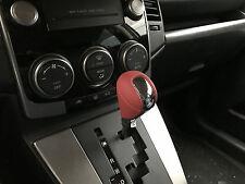 Mazda 5 3 6 Schalthebelknopf Schaltknauf Knopf Shift Knob Leder & Chrom
