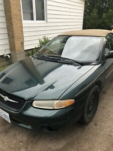1999 Chrysler Sebring convertible